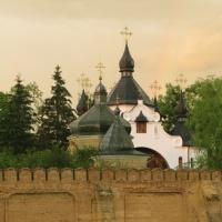 Свято-Георгіївський чоловічий монастир на Козацьких Могилах